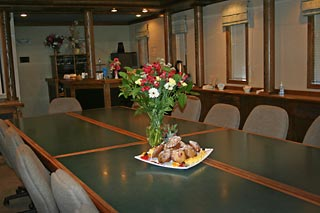 Board room meeting space for Yukon meetings