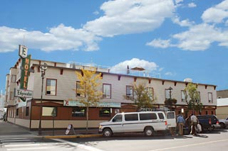 Exterior photo of the hotel